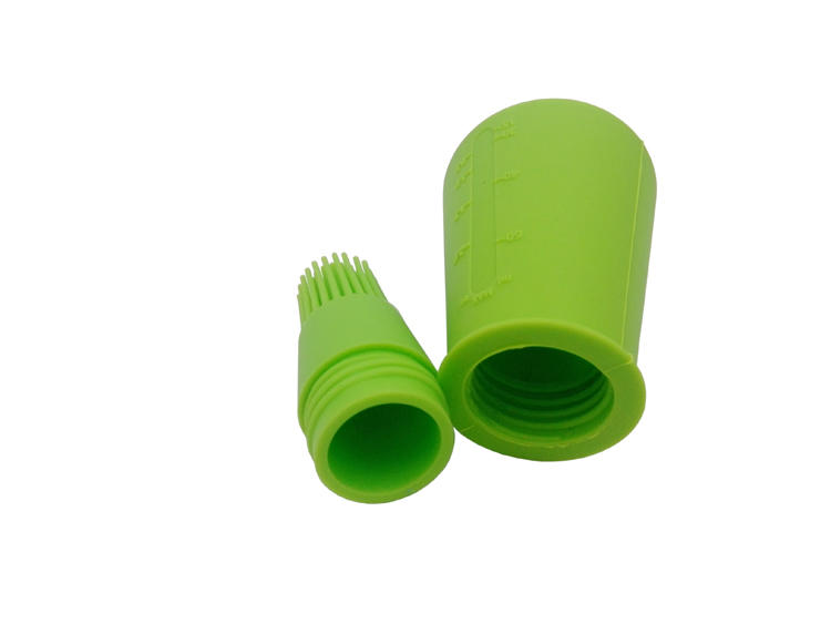 EU Food Grade Baking Tools Pastry Brush Silicone Oil Bottle Brush