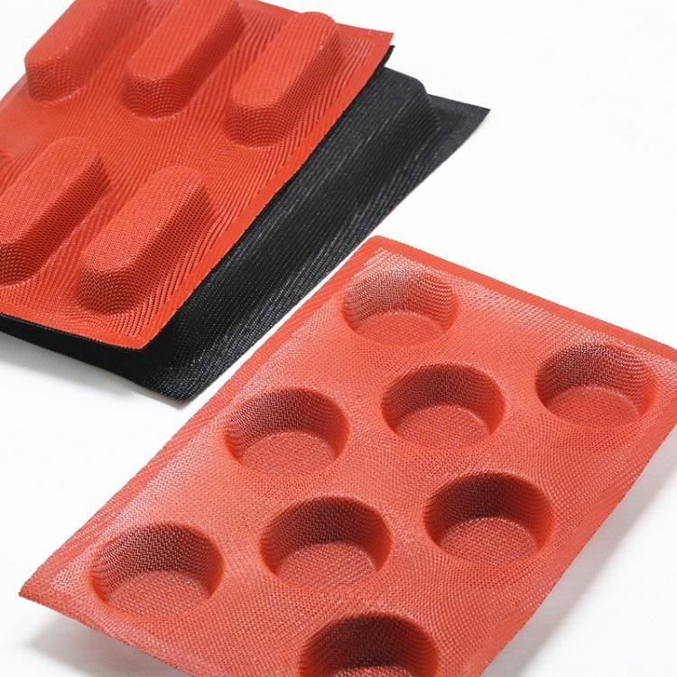 Best Quality Non-stick Silicone Fiberglass Baking Mold