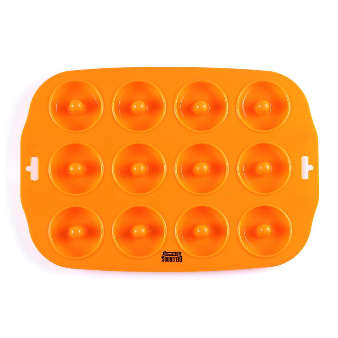 Wholesale 12 Cavities Mini size Non-stick silicone donut tray