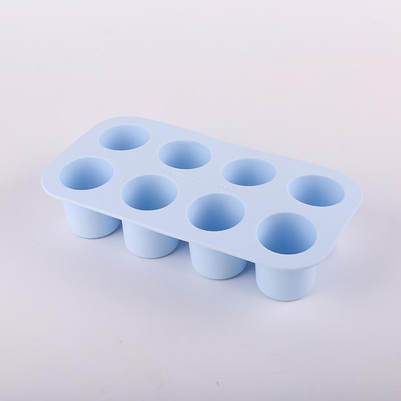 BPA free customized brand logo 8 cavites silicone food storage box tray for baby