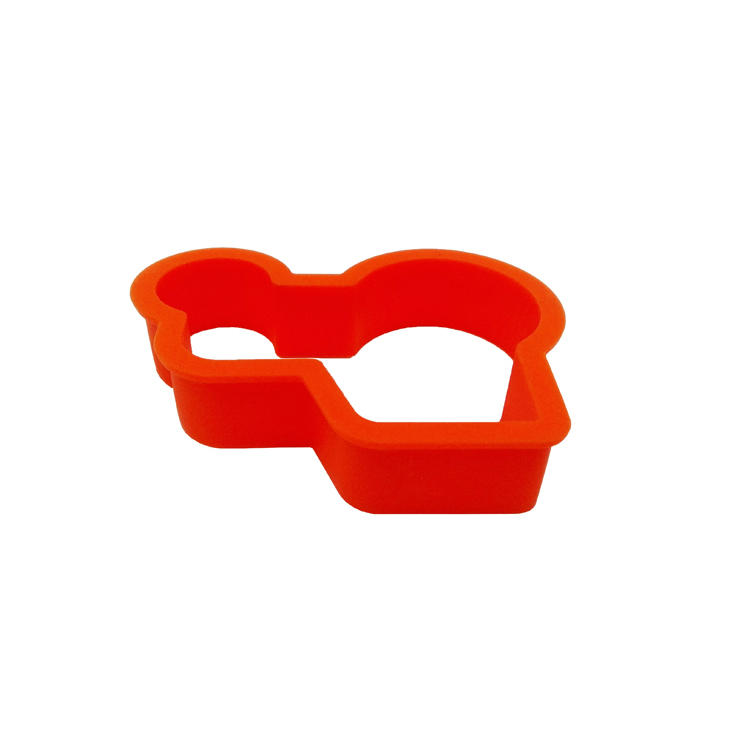 Custom Design Tractor Shape Silicone Egg Ring Silicone Pancake Mold