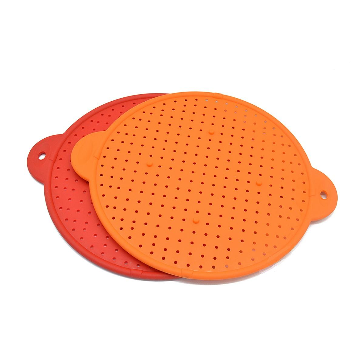 BSCI Factory Multifunctional Food Grade silicone kitchen strainer vegetables food fruit Colander