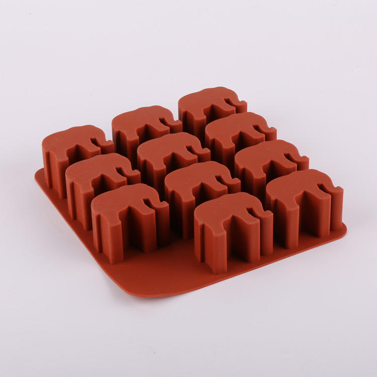 Elephant Shaped Ice Tray Silicone Mold Ice Cube Tray Chocolate Mould