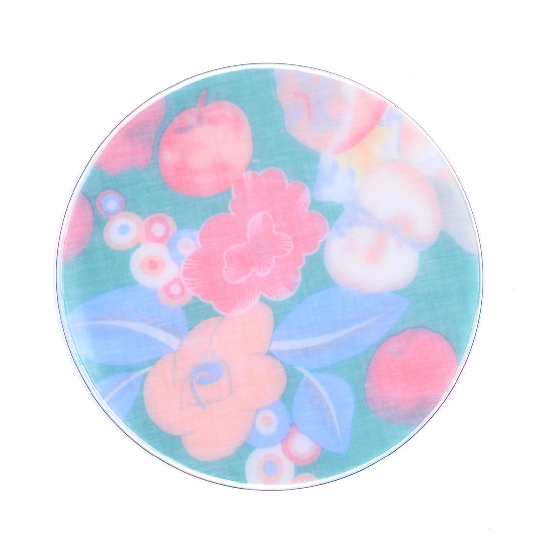 Promotion gifts colorful heat resistant silicone placemats