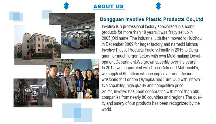 Invotive Guangdong silicone products factory for global market