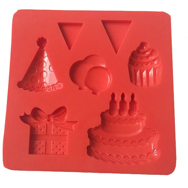 Silicone cake decorations fondant mold cake decorations tool-6
