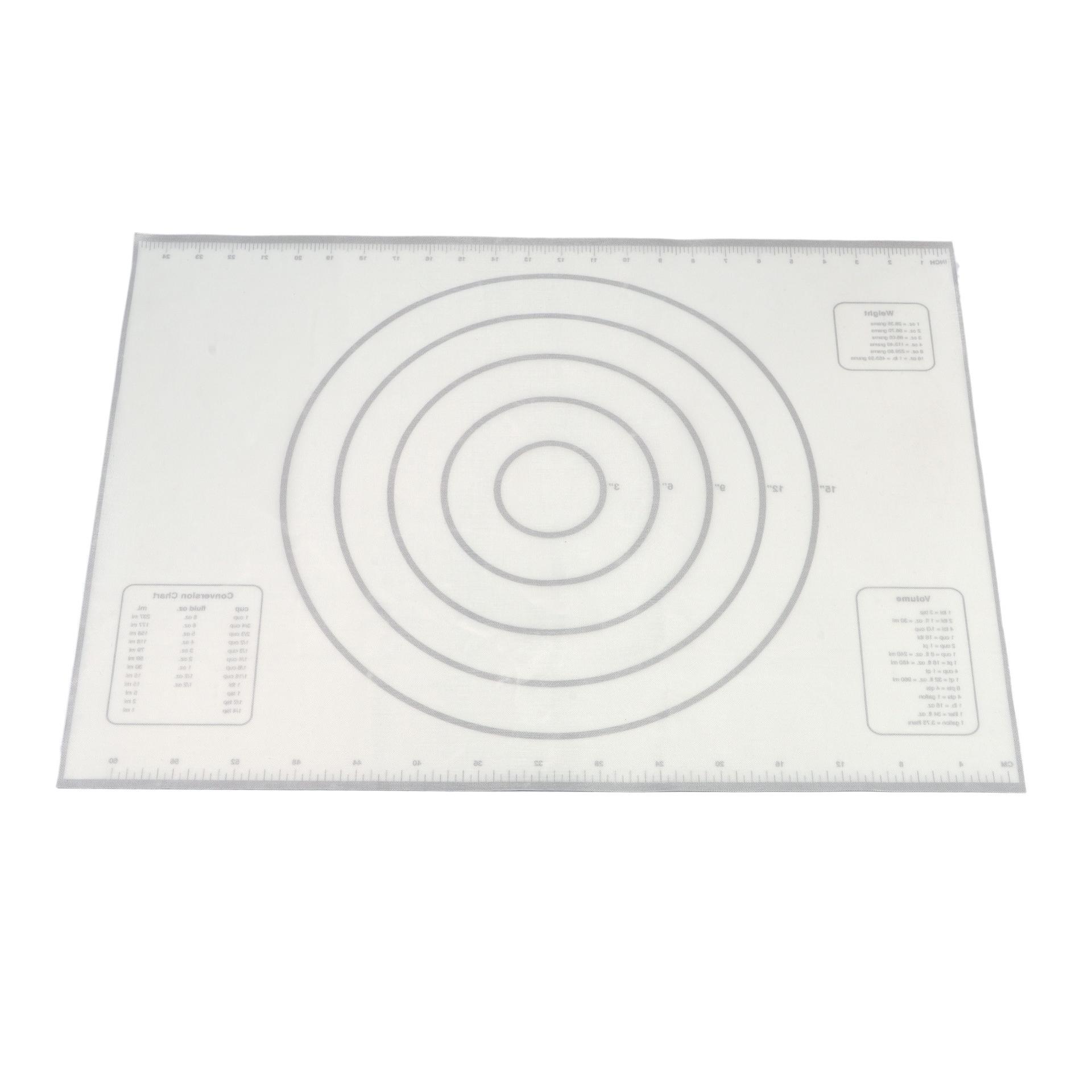 Sedex factory tick mark check silicone glass fibre mat for baking