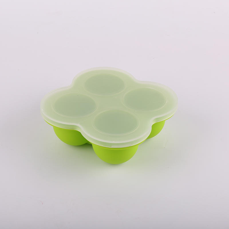 Sedex 4 P factory silicone 4 cups baby food storage box