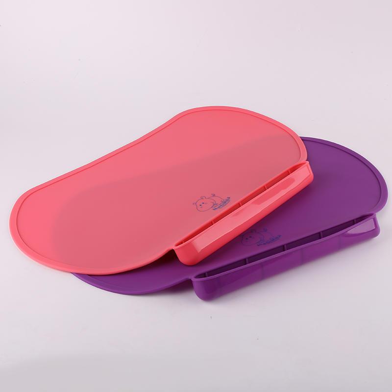 Sedex Factory custom design silicone baby feeding place mat