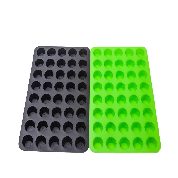 High quality silicone cake mould mini size muffin cup tray