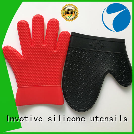Invotive silicone oven mitts company for microwave