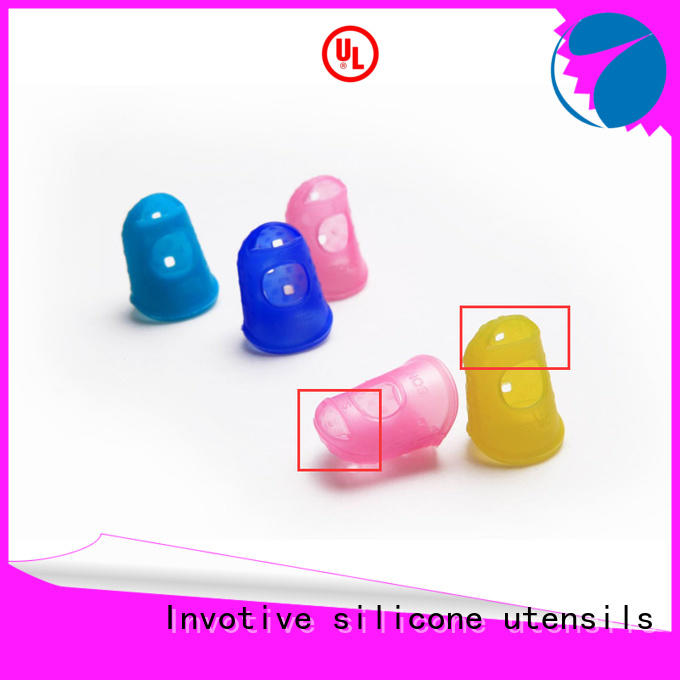 Invotive colorful silicone finger guards company for wholesale