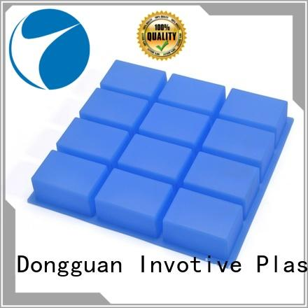 12 Cavity Handmade Rectangle Silicone Soap Mold