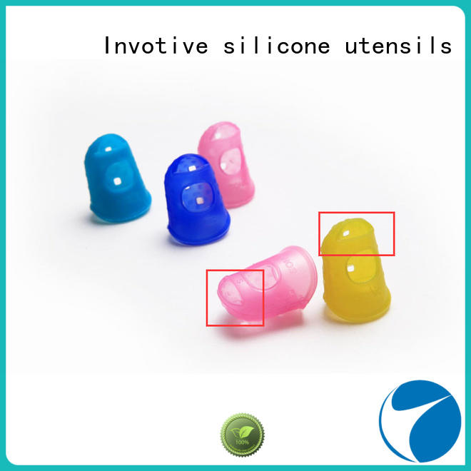 Invotive Brand silicone finger custom silicone pastry molds