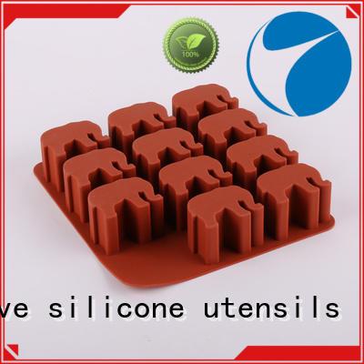 Elephant Shaped Ice Tray Silicone Mold Ice Cube Tray Chocolate Mould