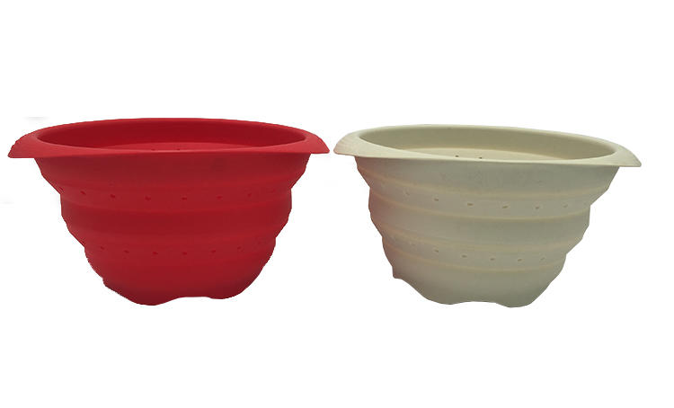 Custom silicone bowl collapsible for sale for food storag-2