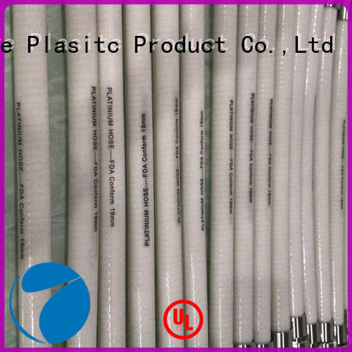 paltium material Silicone braided hose glass fiber inside for beer machine Invotive
