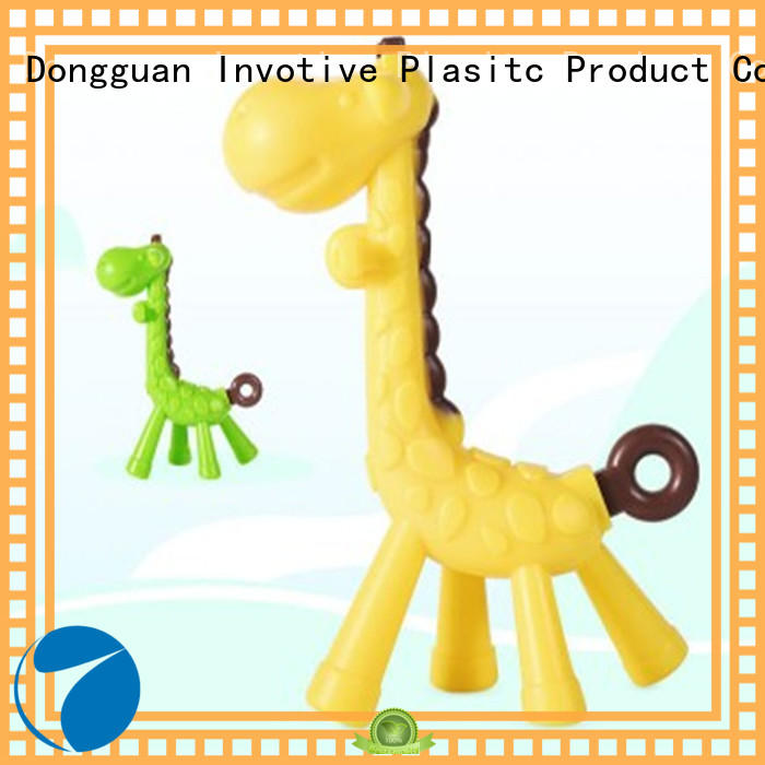 Invotive food grade teether factory for trade partner