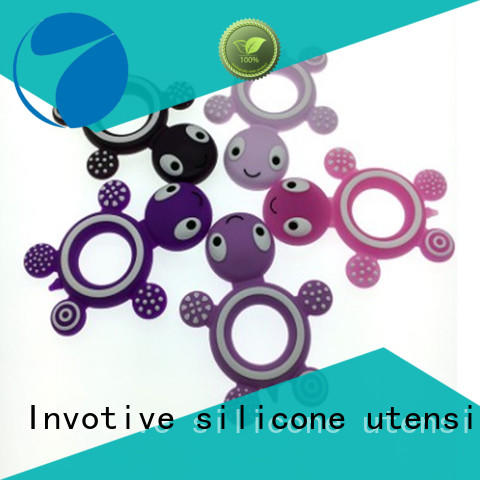 Invotive educational silicone teether suppliers for toddler