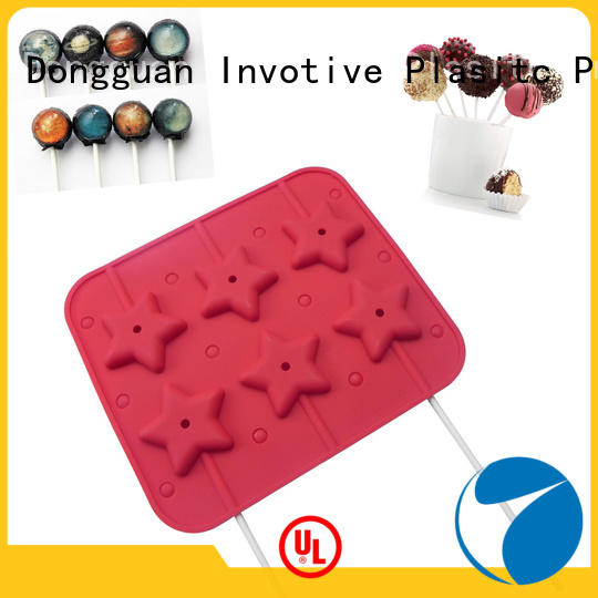 Food Grade Silicone Chocolate mold lolly pop mold