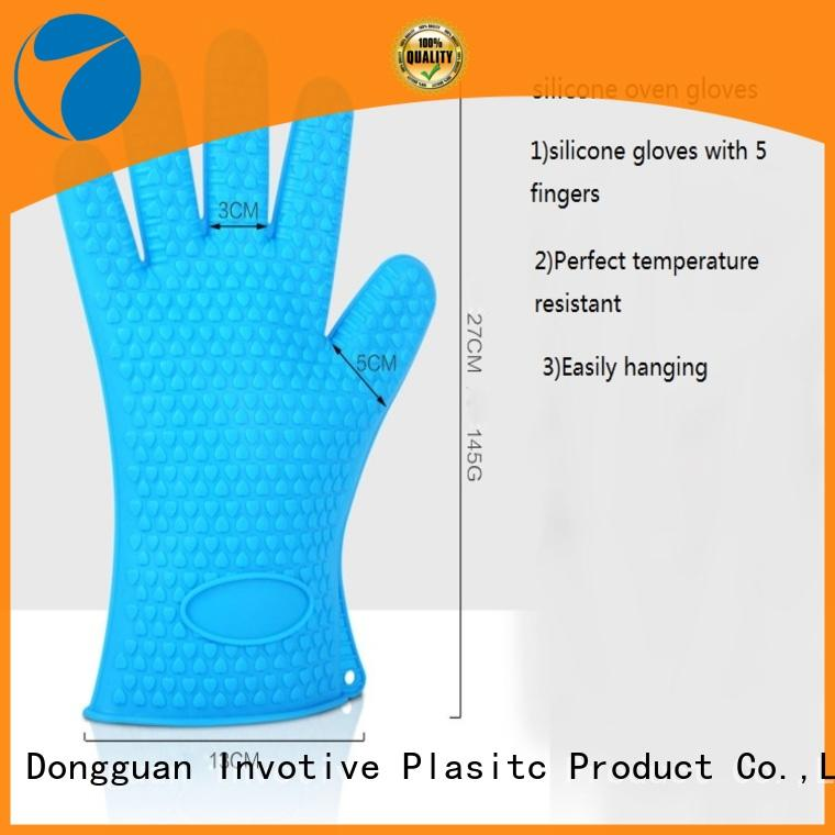 Wholesale silicone oven mitts China suppliers for pan