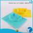 Invotive transparent silicone baby spoon cute for global market