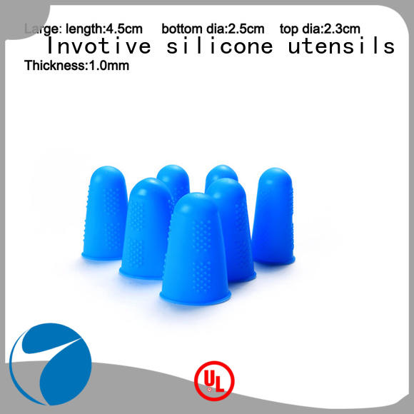Comfortable silicone finger care protecter finger cap