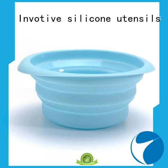 Invotive China silicone collapsible dog bowl supply for sale