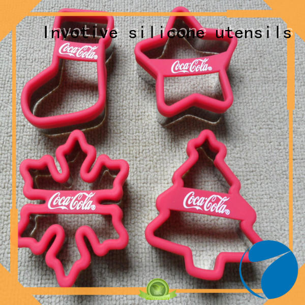 Invotive New christmas silicone molds for sale for holiday