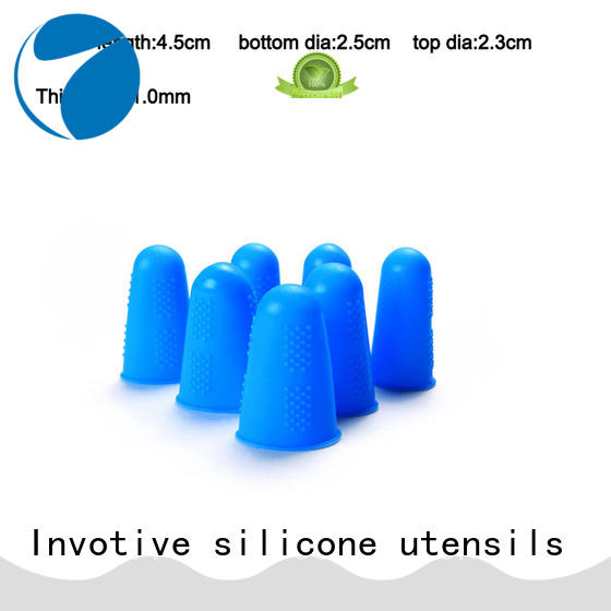 Invotive Custom silicone finger caps for business for global market
