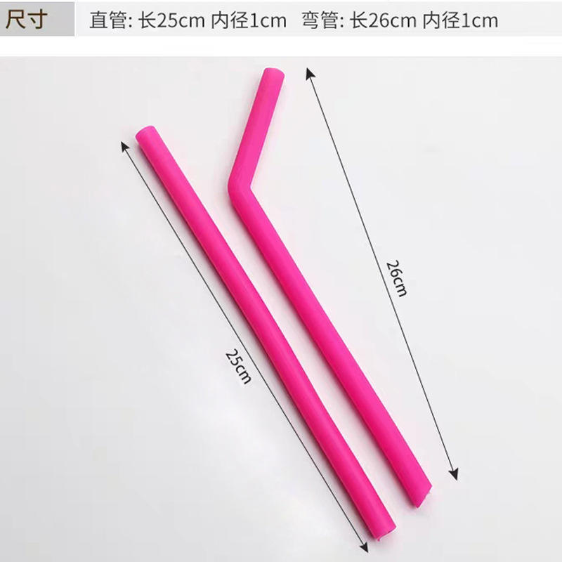 Top Silicone straw resuable for business for food storag-1