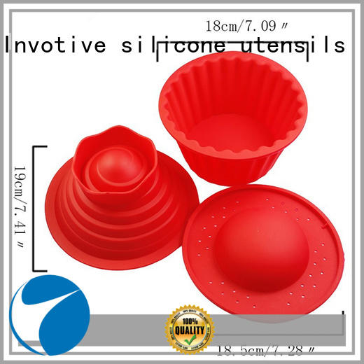 Invotive customized silicone cookware Dongguan for baby