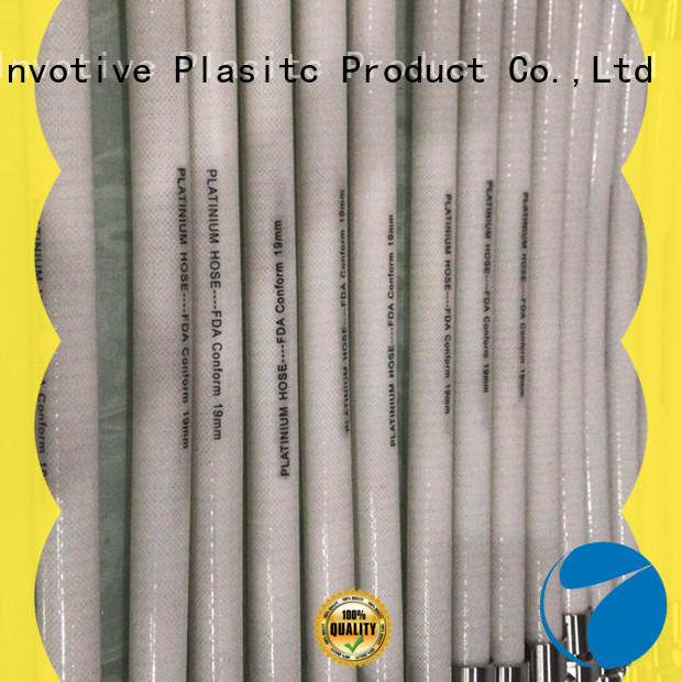 Custom Silicone braided hose paltium material company for machine