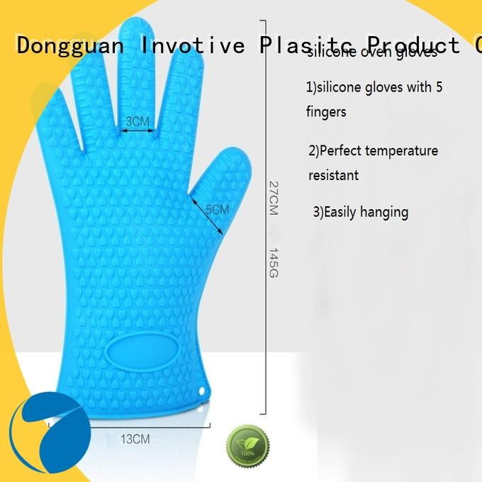 Invotive Top silicone oven mitts suppliers for freezer