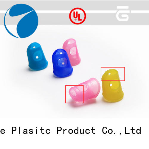 Wholesale silicone finger caps colorful factory for trade company