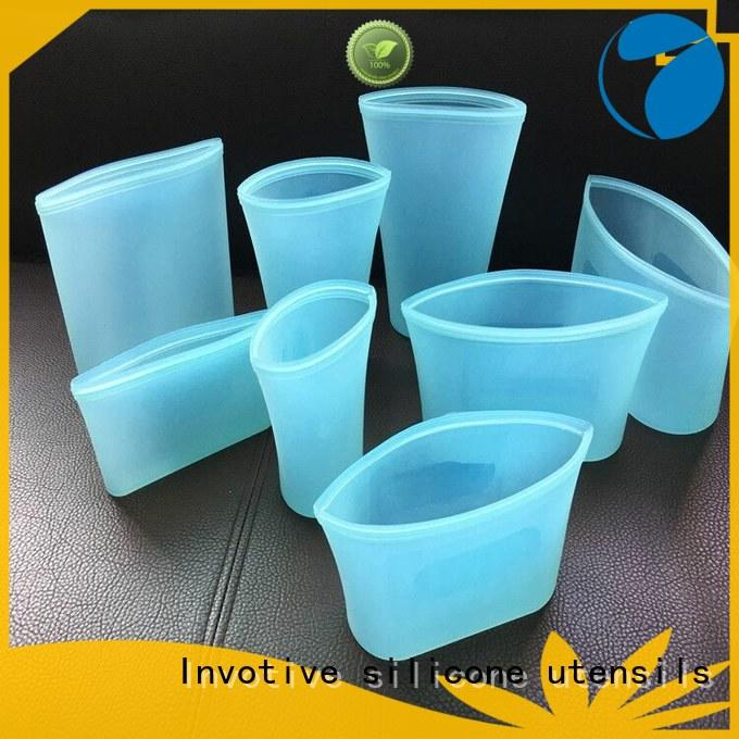 Invotive ziplock silicone bag supply for global market