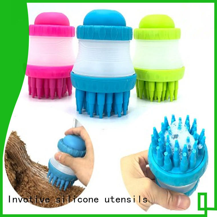 multifunctional silicone brush supplier for wholesale
