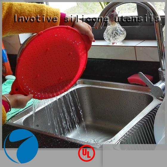 Invotive promotion silicone mat for business for trade partner