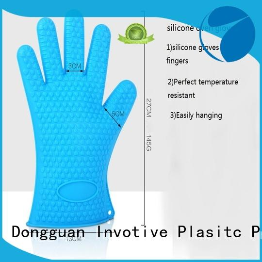 Invotive High-quality silicone oven mitts for business for pan