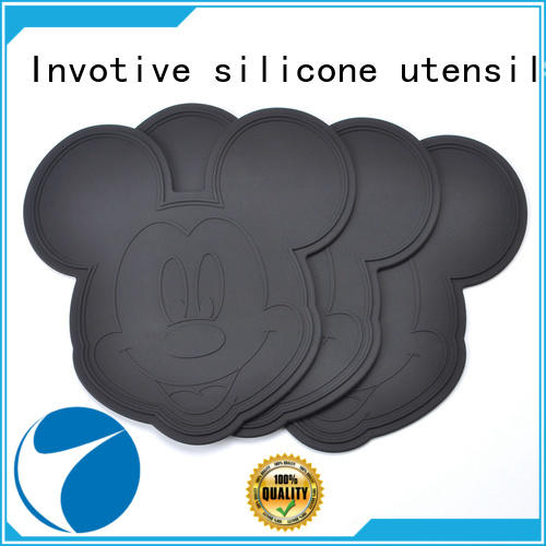 Invotive waterproof silicone coaster for sale for importer