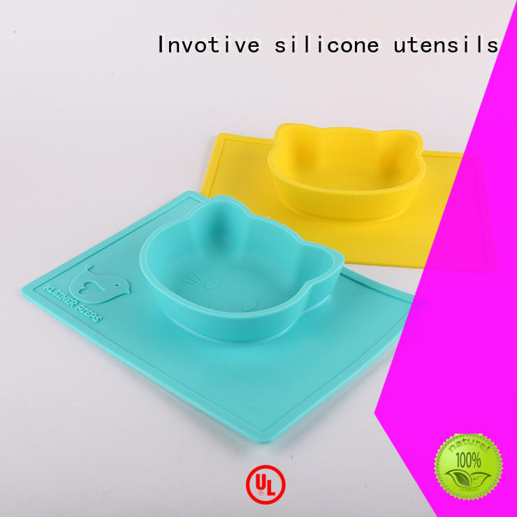 Invotive Brand table silicone spatula set feeding supplier