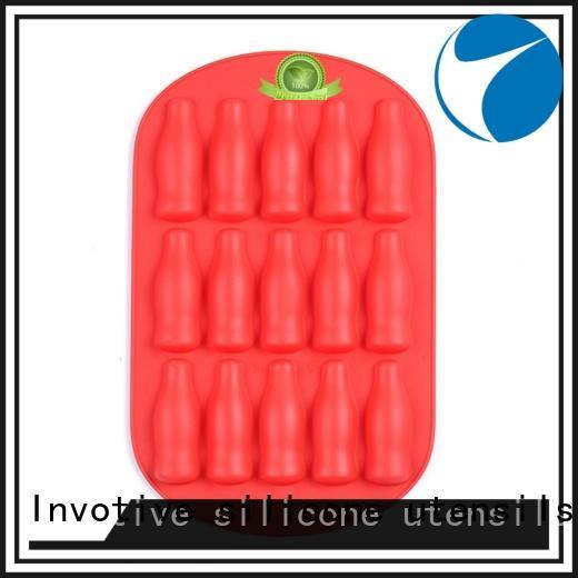 Invotive pillar silicone ice maker